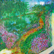 Sommerweg1 2011   50x50 cm