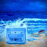 blue Ocean  2016  60x80 cm