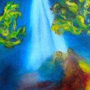 Versöhnung - Jesaja 9,5  2015   60x80 cm