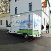 Fleischerei Kipper - Kozept, Entwurf und Herstellung Fahrzeugbeschriftung