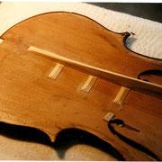 restauration d'un violoncelle