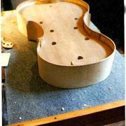 fabrication d'un violoncelle
