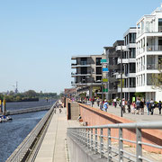 Wohnen und Arbeiten am Europahafen