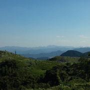 大分県英彦山方向