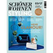SCHÖNER WOHNEN STYLING 3/2017 nennt INK+OLIVE in seinen Hamburg-Tipps
