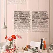 Produkte aus dem INK + OLIVE Sortiment in der Schöner Wohnen 07/2016