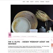 INK+OLIVE wird von Blonde empfohlen