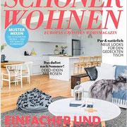 INK + OLIVE in der Schöner Wohnen 07/2016