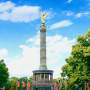 Berlin Siegessäule   Sehenswürdigkeiten Hauptstadt Deutschland Berlin