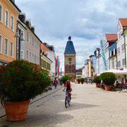 Die Maximillianstraße in Speyer