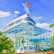 Berlin, CDU Parteizentrale   Sehenswürdigkeiten Hauptstadt Deutschland Berlin