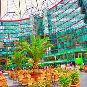 Berlin Sony Center Sehenswürdigkeiten Hauptstadt Deutschland Berlin