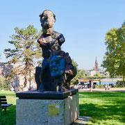 Markus Lüpertz Beethoven skulptur Bonn