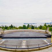 Amphitheater Gardasee Gardasee: Giardino Vittoriale  Italien