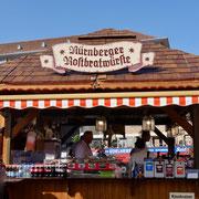 Nürnberger Bratwurst Stand Sehenswürdigkeiten Deutschland Nürnberg