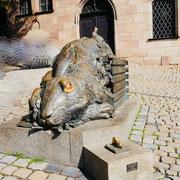 Bronzeskulptur nach Albrecht Dürer