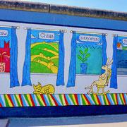 Berliner Mauer,    Sehenswürdigkeiten Hauptstadt Deutschland Berlin