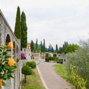 Italien Gardasee: Giardino Vittoriale  Italien