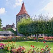 Burggarten der Kaiserburg in Nürnberg