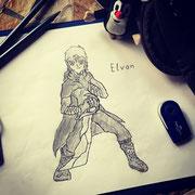 Elvon (ältere Zeichnung)