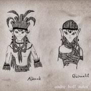 Aldenak und Quinnalit