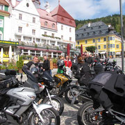 Ankunft in Mariazell