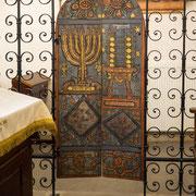Bild: Die Remuh Synagoge in Kazimierz in Krakau