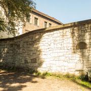 Bild: Die Remuh Synagoge in Kazimierz in Krakau - Klagemauer