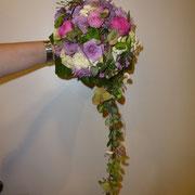 Zur Hochzeit: Brautsträuße und Hochzeitsfloristik von der Blumenwerkstatt Dresden