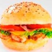 Généreux american burger poulet