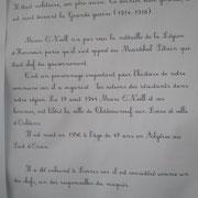 Compte rendu de la cérémonie en hommage au LIEUTENANT COLONEL MARC O'NEILL le samedi 16 octobre, à LORRIS Image