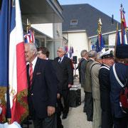 Suivi du Député-maire d'Orléans Serge Grouard et du Sénateur Jean-Pierre Sueur...