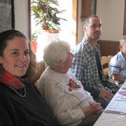 Chrissie, Oma, Tobias, Janik