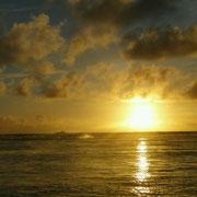 Und wieder mal ein schöner Sonnenuntergang