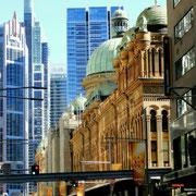 Queen Victoria Building, ein teures Shoppingcenter