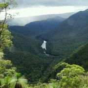 Aussicht im Bungonia NP