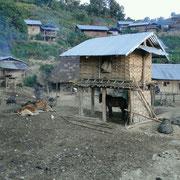 Alles im Dorf ist noch ruhig