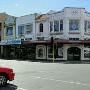 Napier, viele Gebäude im Art-Deco-Stil