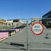 """Road Closed"" das sieht man überall"