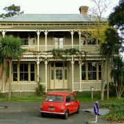 Ein Haus aus früheren Zeiten in Te Aroha