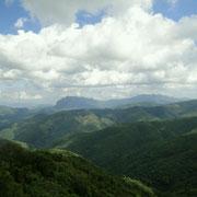 Landschaft bei Vang Vieng