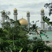Den Wohlstand Bruneis sieht man auch an dern Moscheen