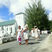 """First Christian Church"", die aelteste Kirche der Insel"
