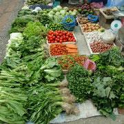 Luang Prabang, wieder einmal Markt