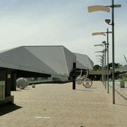 Das Dach des Festivalzentrums
