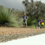 Mein umgeruestetes Fahrrad und ich