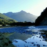 Der Fluss wird breiter, der Weg wird kürzer