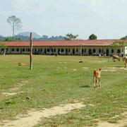 Der Schulhof ist offen fuer alle
