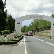 Ortseinfahrt von Tanunda