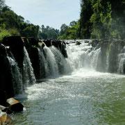 Wasserfall bei Pakse